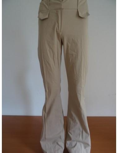Pantaloni crem dama