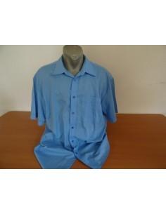 Camasa bleu cu maneca scurta ROBERTO