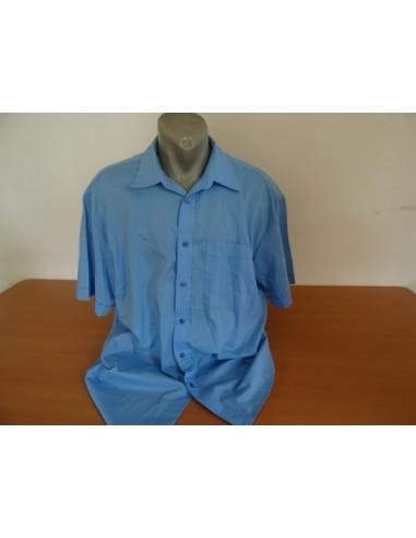 Camasa bleu cu maneca scurta