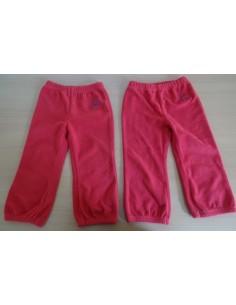 Pantaloni rosii fleece