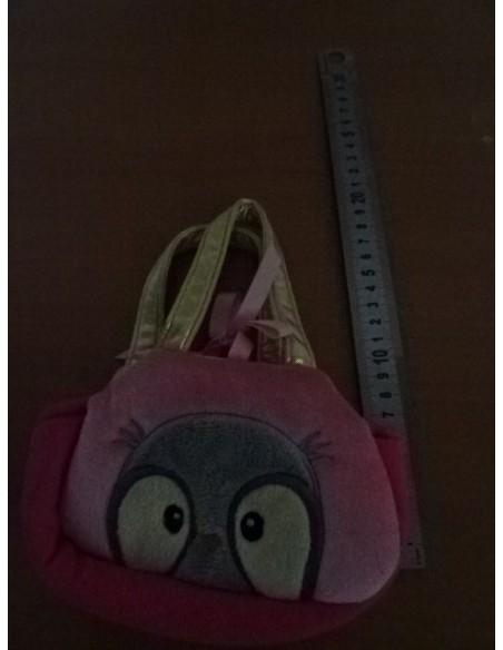 Gentuta roz pentru fetite cu bufnita