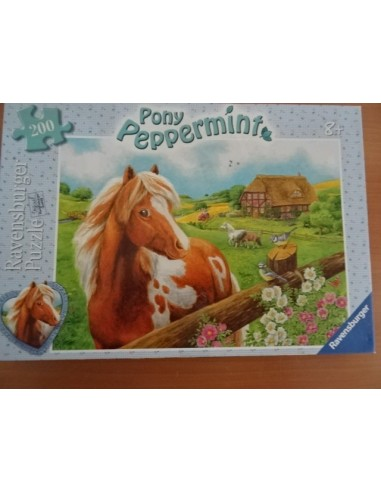 Puzzle Pony Peppermint 200 piese