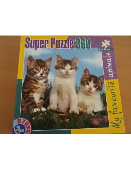 Puzzle My favourite animals 360 piese
