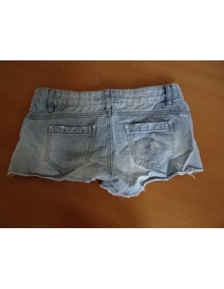 Pantaloni scuti de blugi