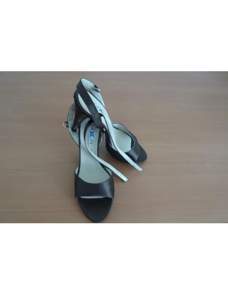 Sandale elegente din satin