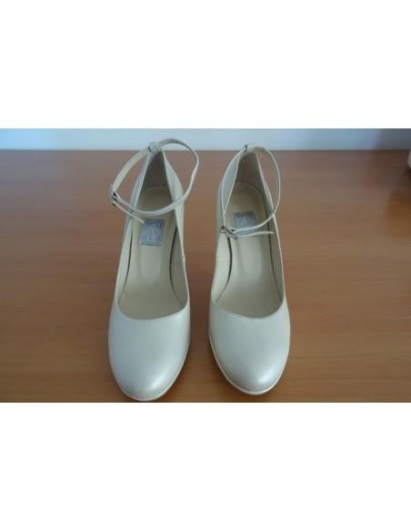 Pantofi ivory sidefat dama