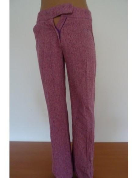 Pantaloni cu dunga ,dama