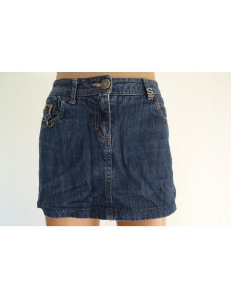 Fusta jeans sport