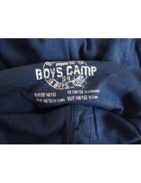 Bluza albastra baieti Boys Camp