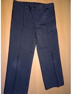 Pantaloni negri cu dunga