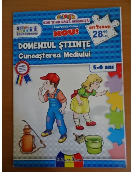 Carte educationala CUNOASTEREA MEDIULUI