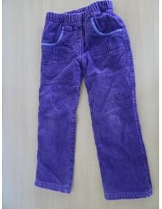 Pantaloni fetite cu buzunare