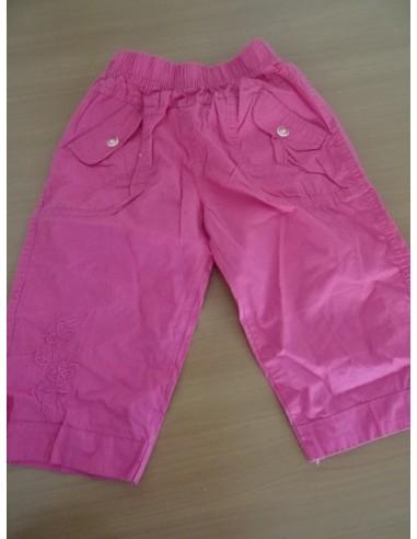 Pantalonasi trei sferturi brodat