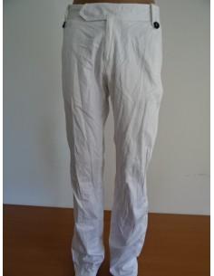 Pantaloni albi VIRI