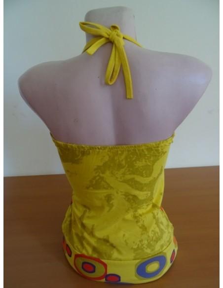 Maieu galben cu spate gol
