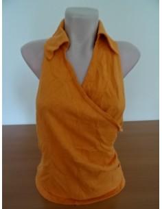 Bluza lana cu spate gol