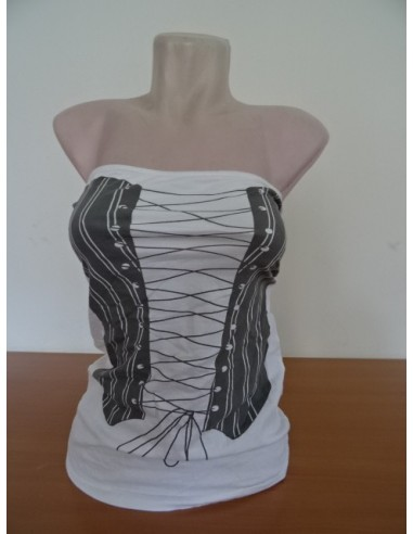 Bluza cu siret reglabil,gen corset