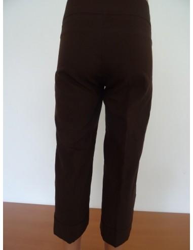 Pantaloni trei sferturi,cu dunga