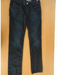 Jeans negri CHAPTER