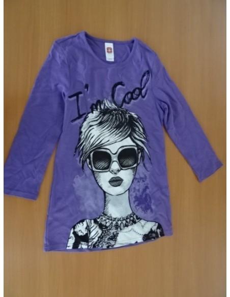 Bluza C&A,mov cu imprimeu