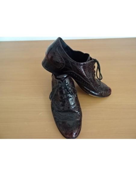 Pantofi in degrade cu siret, barbati