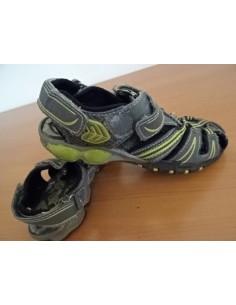 Sandale gri baietei