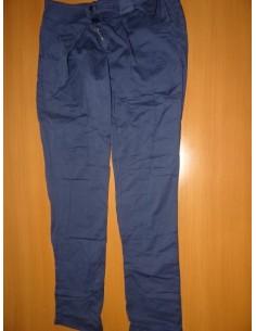Pantaloni dama din bumbac made in Italy