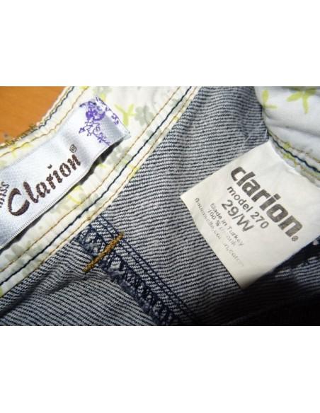 Pantaloni scurti dama blugi Clarion