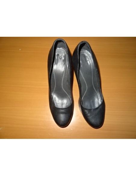 Pantofi dama din piele cu toc