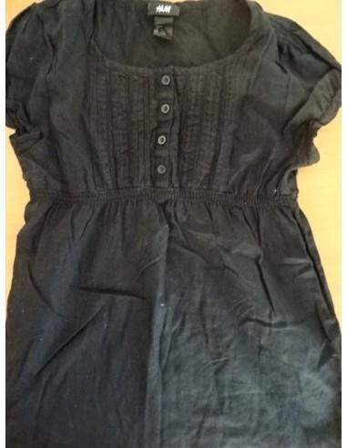 Bluza neagra bumbac H&M