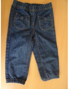 Jeans cu buzunare fundite