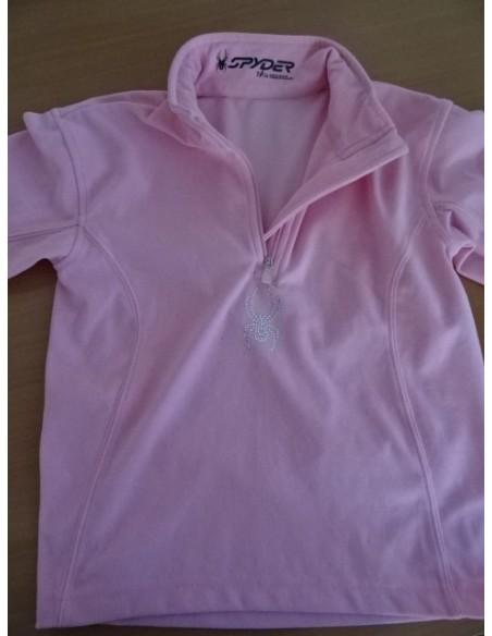Bluza roz Spider