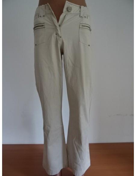 Pantaloni albi CECIL
