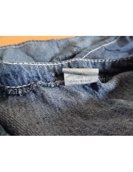 Vesta jeans cu nasturi