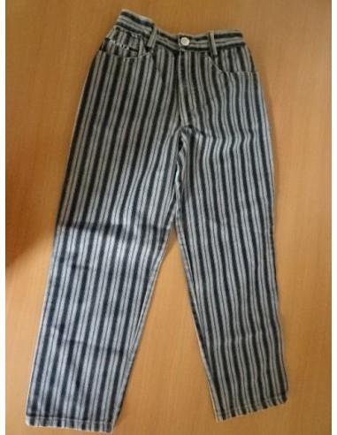 Pantaloni cu dungi negre