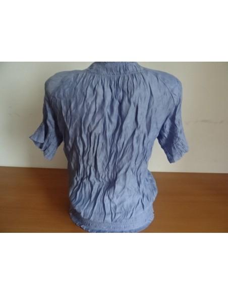 Camasa dama Zara Basic din material creponat