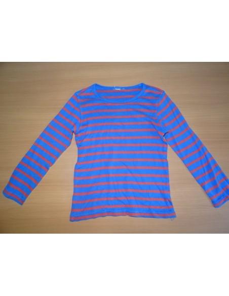 Bluza albastra cu dungulite