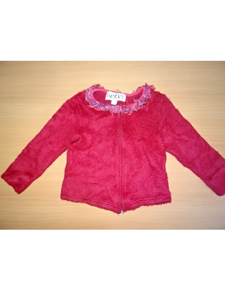 Jacheta cu fermoar fetite