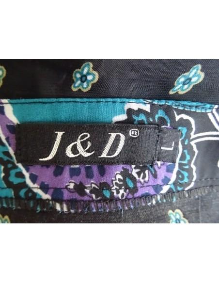 Bluza J&D cu elastic in talie